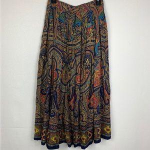💫CHAUS | Vintage Paisley skirt